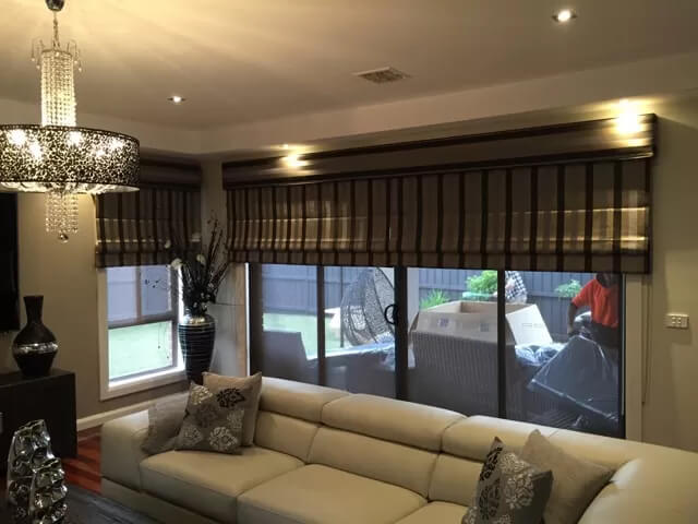 Experience the Alfresco Blinds Co Difference of Roman Blind