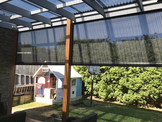 Residential Ziptrak blinds
