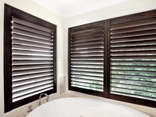 Painted or Stained Window Shutters