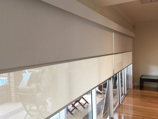 bonded pelmet dual blinds melbourne