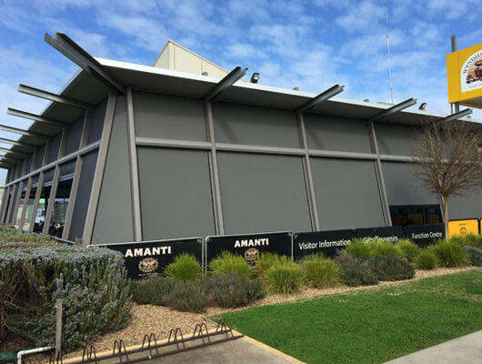 commercial outdoor blinds melb