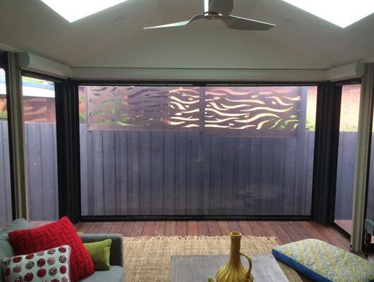 dual pvc sunscreen ziptrak blinds