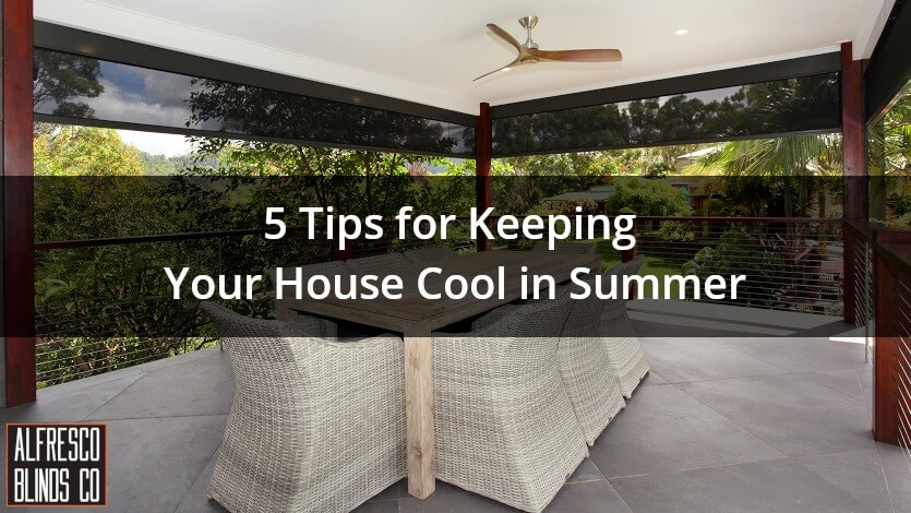 keeping house cool summer