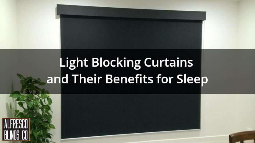 light blocking curtains dark