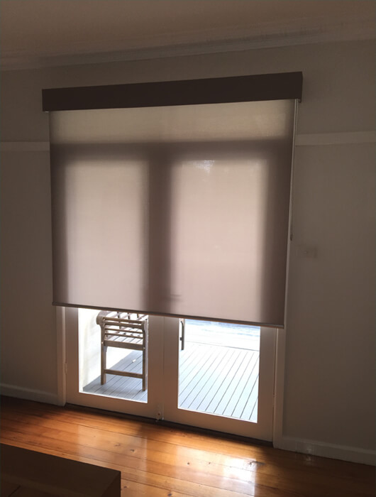 light filtering roller blinds pelmet