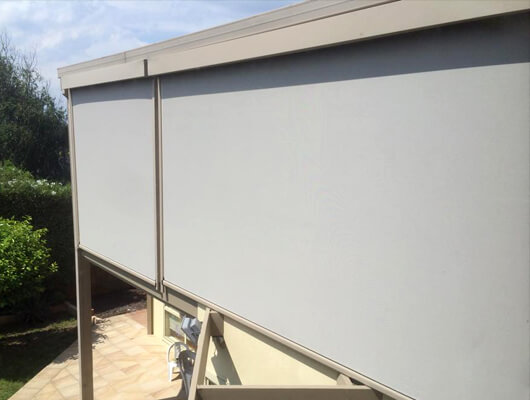 motorised outdoor ziptrack blinds ZipScreen