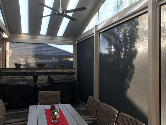 patio outdoor blind system melb ZipScreen
