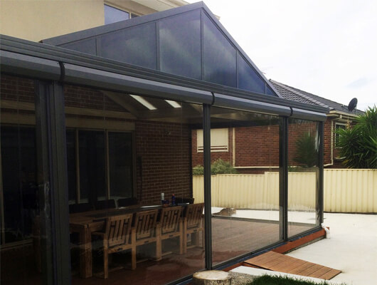 pvc outdoor blinds melbourne
