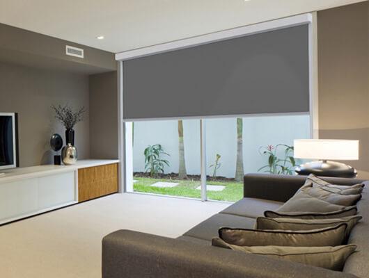 ziptrak interior home cinema blind
