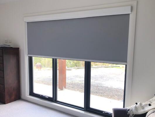 ziptrak interior track guided blackout blind