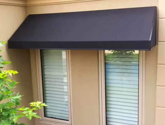 Outdoor-Window-Awnings-Offer-Effective-Weather-Protection