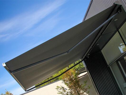 melbourne folding arm awnings