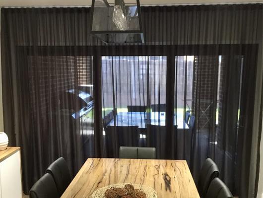 wave fold curtains melbourne